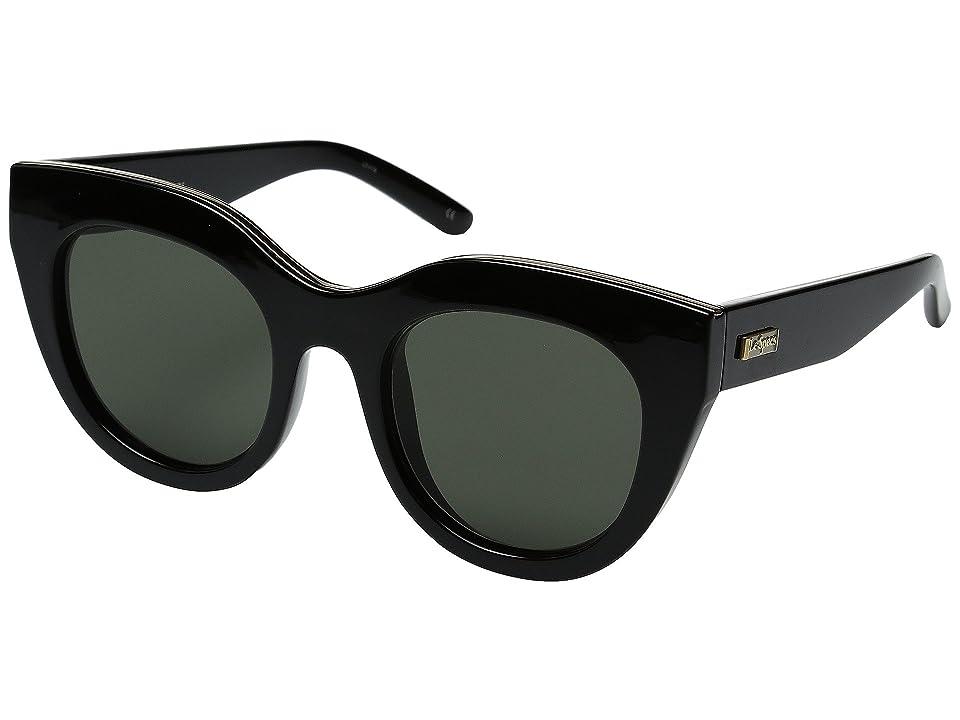 Le Specs Air Heart (Black/Gold) Fashion Sunglasses