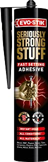 seriously strong stuff fast setting adhesive