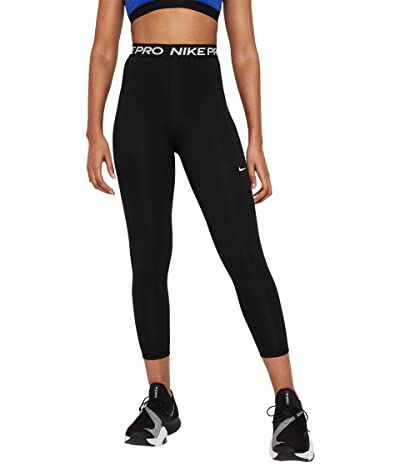 Nike Pro 7/8 Tights High-Rise (Black/White) Women