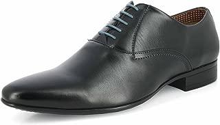 Alberto Torresi Men's Black Synthetic Shoes (86548 Black)