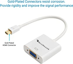 BlueRigger Mini Thunderbolt Display Port to VGA Adapter