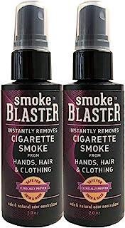 اسپری دود سیگار فوری و طبیعی از طریق مسنجر برای جلوگیری از دست ، مو و لباس ، 2 تعداد