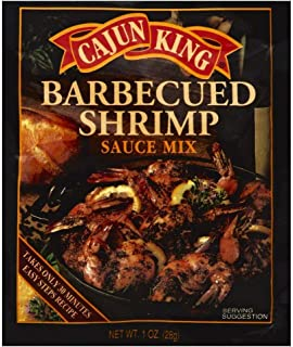 Cajun King, Seasoning Mix Barbecue Shrimp, 1 Ounce