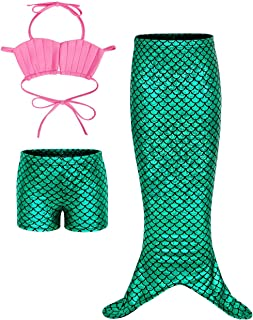 Jurebecia Girls Swimsuit Tankini Swimwear Bikini Kids Bathing Suit 1-6Years