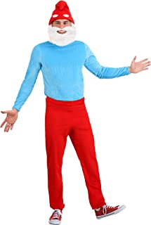 papa smurf costume for adults