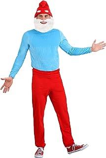The Smurfs Adult Papa Smurf Costume