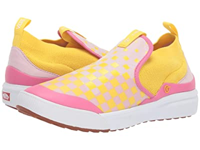 Vans Kids Xtremeranger (Little Kid/Big Kid) ((Checkerboard) Lilac Snow/Vibrant Yellow) Girl