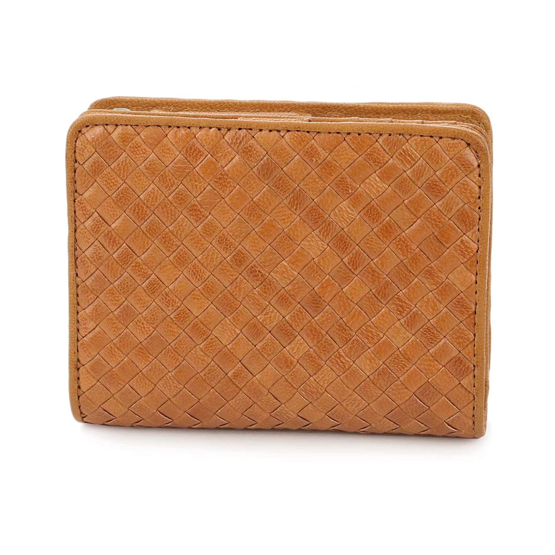 [ゲンテン] 二つ折り財布 本革 トラフォロ 42221 レディース