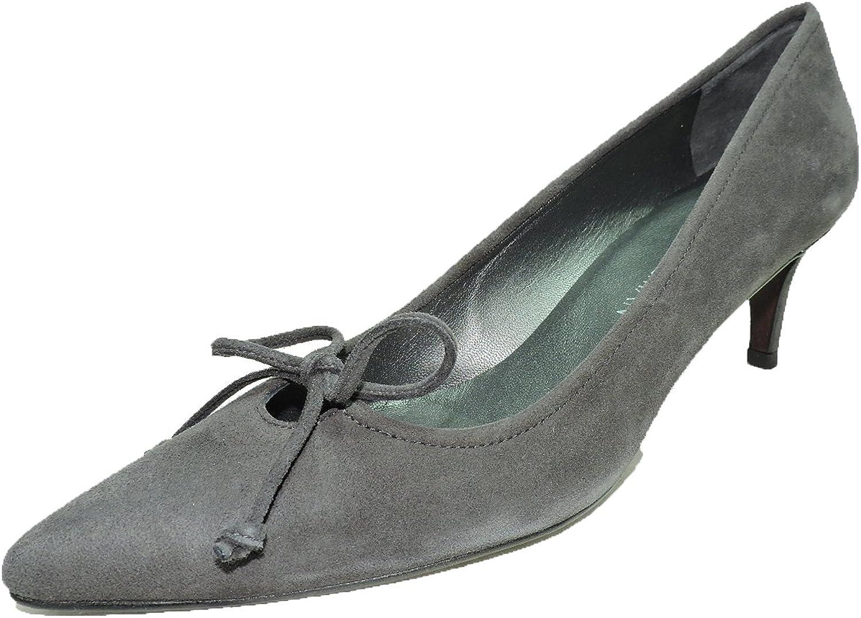 Stuart Weitzman Women's Midpanache Suede Bow Tie Pumps Sandals, shoes 2.5  Heels Size 6.5 M