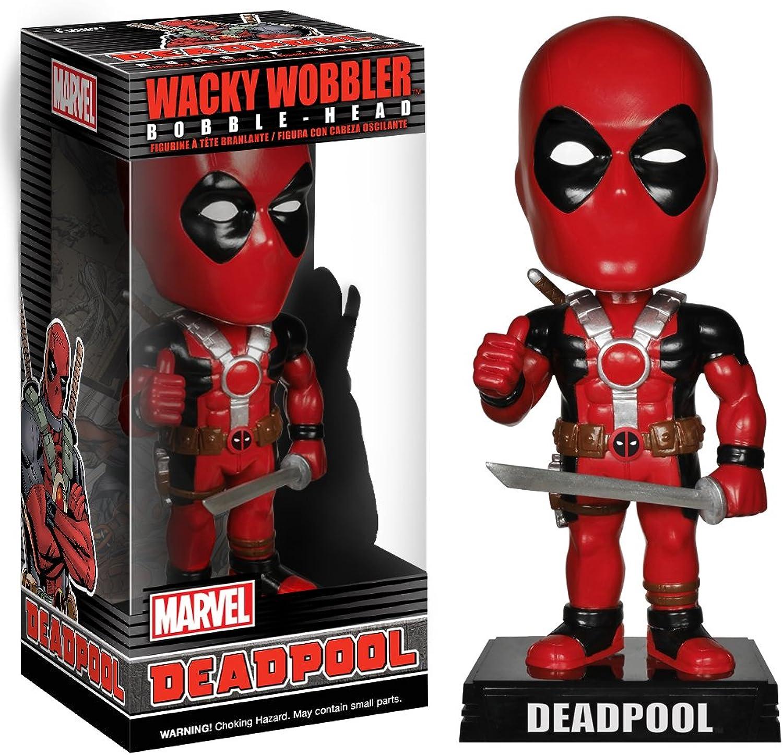 Funko 022663 Wacky Wobbler  Marvel Deadpool Bobble-Head
