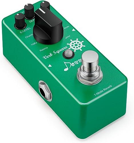 Donner Digital Reverb Pédale d'Effet pour Guitare 7 Modes