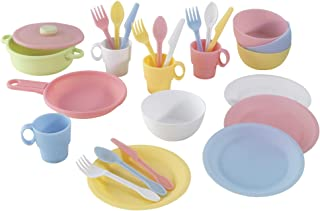 KidKraft 63027 27pc Cookware Set - Pastel