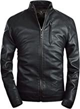 Best leather jacket no collar Reviews