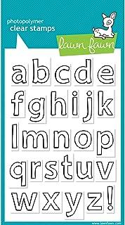طوابع شفافة من Lawn Fawn LF353 Quinn's Abcs