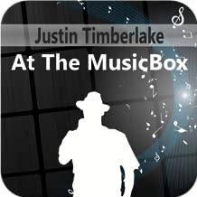 Justin Timberlake At The MusicBox