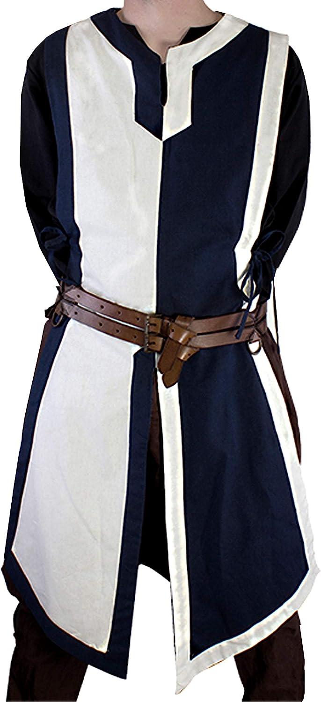 PRIMEBAIL Mens Crusader Costume Medieval Re Kansas City Mall Knight Warrior Tunic National uniform free shipping