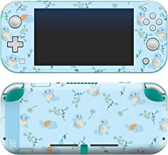 """Controller Gear Authentic and Official Licensed Nintendo Switch Lite Skin - Pokemon """"Squirtle Floral Set 1"""" - Nintendo Switch"""