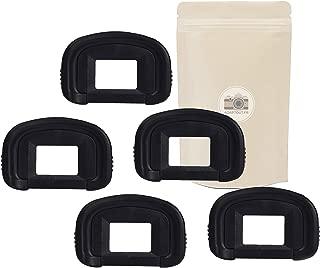 Adaptout Pack of 5 DK25 Rubber Eyepiece for Viewfinder Nikon Type DK25 DK-25 Compatible Nikon D3000 D3100 D3200 D3300 D5000 D5100 D5200 D5300