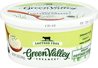 Green Valley Creamery, Cottage Cheese Lactose Free Organic, 12 Ounce