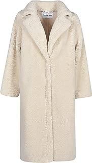 STAND Luxury Fashion Womens 60650MARIA8020 White Coat | Fall Winter 19