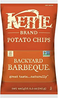 Kettle Brand Potato Chips, Backyard Barbeque, 8.5 Ounce Bag