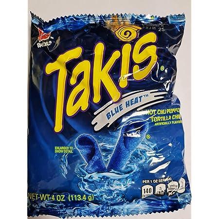 TAKIS BLUE , UK SELLER 4 OZ BAG.