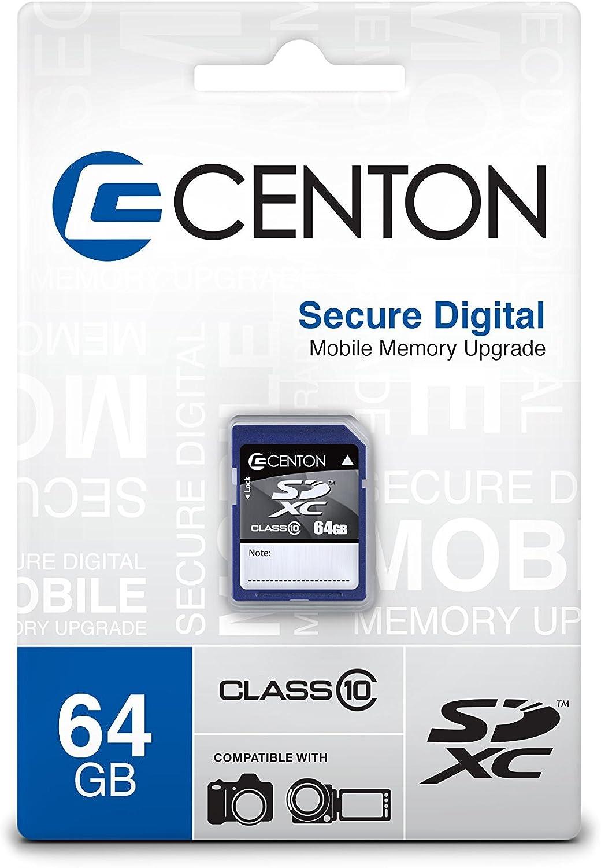 Centon Electronics 64GB Class 10 SD Card (S1-SDXC10-64G)