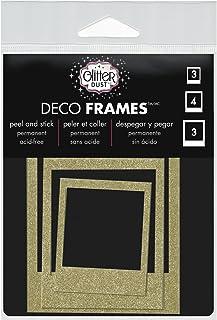 Thermoweb Glitter Dust Frame Assortment, 0.26 x 10.799999999999999 x 13.34 cm, Multi-Colour