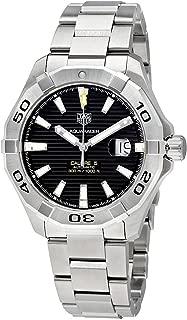 Aquaracer Black Dial Calibre 5 Automatic Men's Watch WAY2010.BA0927