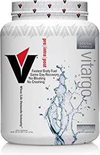 Vitargo Carb Powder Supplement | 2X Faster Muscle Fuel | 4.4 LB Unflavored Pre Workout & Post Workout | Carbohydrate Powde...