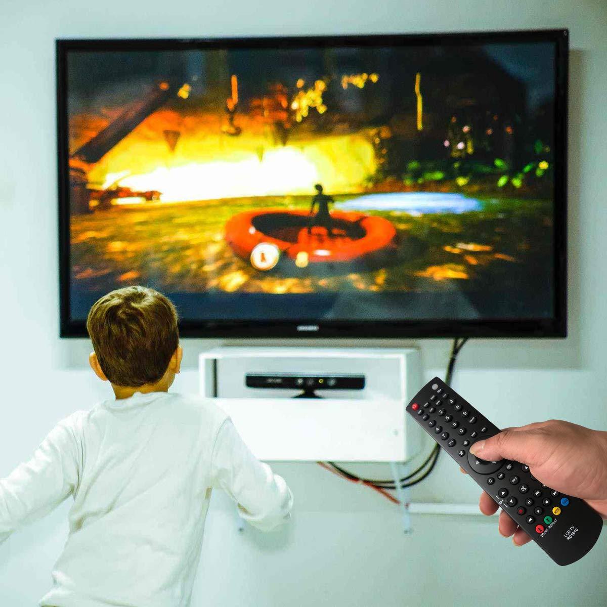EAESE RC1910 Reemplazo Mando a Distancia para Toshiba Sharp Polaroid TVs Control Remoto RC-1910 22DL704B 22L1333B 22L1337DB 24W1337DB 32D1333B 32D1334B 32DV502B 3 32W1334DB 32W1337DB 40L1337DB: Amazon.es: Electrónica