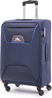 High Sierra Travel Pod Hardside Spinner Luggage 56cm with 3 digit Number Lock - Blue