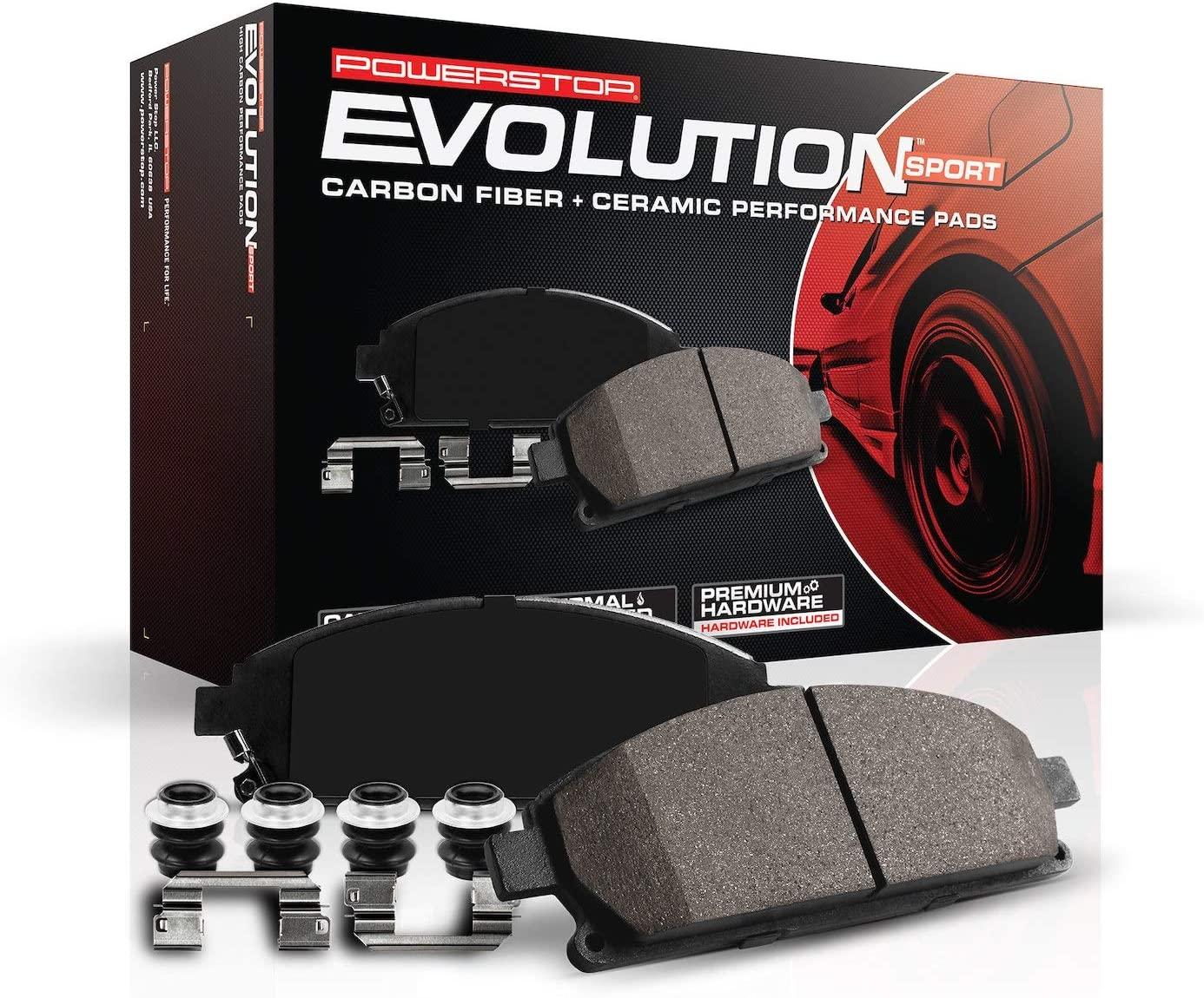 Power Stop Z23-1405 Popular Z23 Evolution Max 56% OFF Sport Brake Front Pads