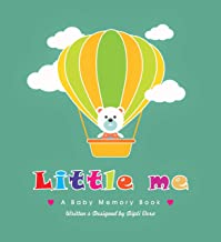 Little Me, A Baby Memory Book | Baby Record Book | Baby Journal | Baby Milestone Book | Modern Baby Shower Gift | Gender N...