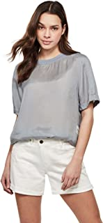 G-STAR RAW Woven Loose Short Sleeve Camicia Donna