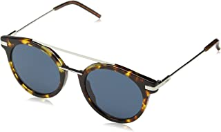 Fendi Women's Ff 0225/S Ku Sunglasses, Havana, 49