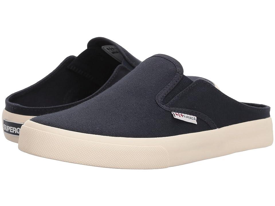 Superga 2388 COTW Slip-on Sneaker (Navy) Women