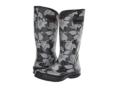 Bogs Spring Vintage Rain Boot (Black Multi) Women