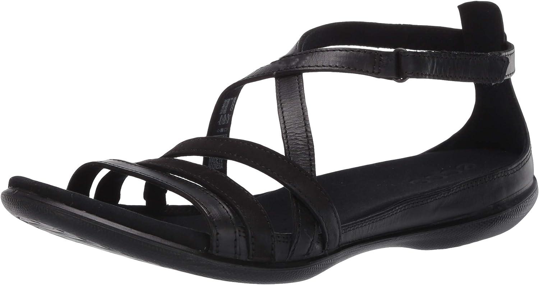 ECCO Women's wholesale Direct stock discount Summer Sandal Strap Cross