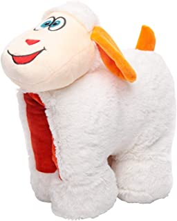 Sheep Travel Pillow for Kids - Travel Accessory for Kids Relaxing Comfort with Neck Support. Easy Travel with Soft, Cuddly...