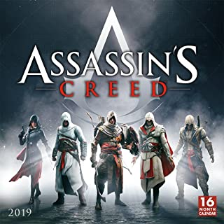 2019 Assassin's Creed 16-Month Wall Calendar: By Sellers Publishing