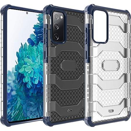 Restoo Samsung Galaxy S20 FE Case,Anti-Slip Hard Armor ShockproofCase with Full Body Rugged Heavy Duty Protection for Samsung Galaxy S20 FE 5G 2020,Blue