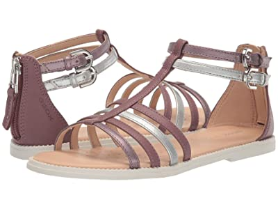 Geox Kids Sandal Karly Girl 29 (Little Kid/Big Kid) (Dark Pink) Girl