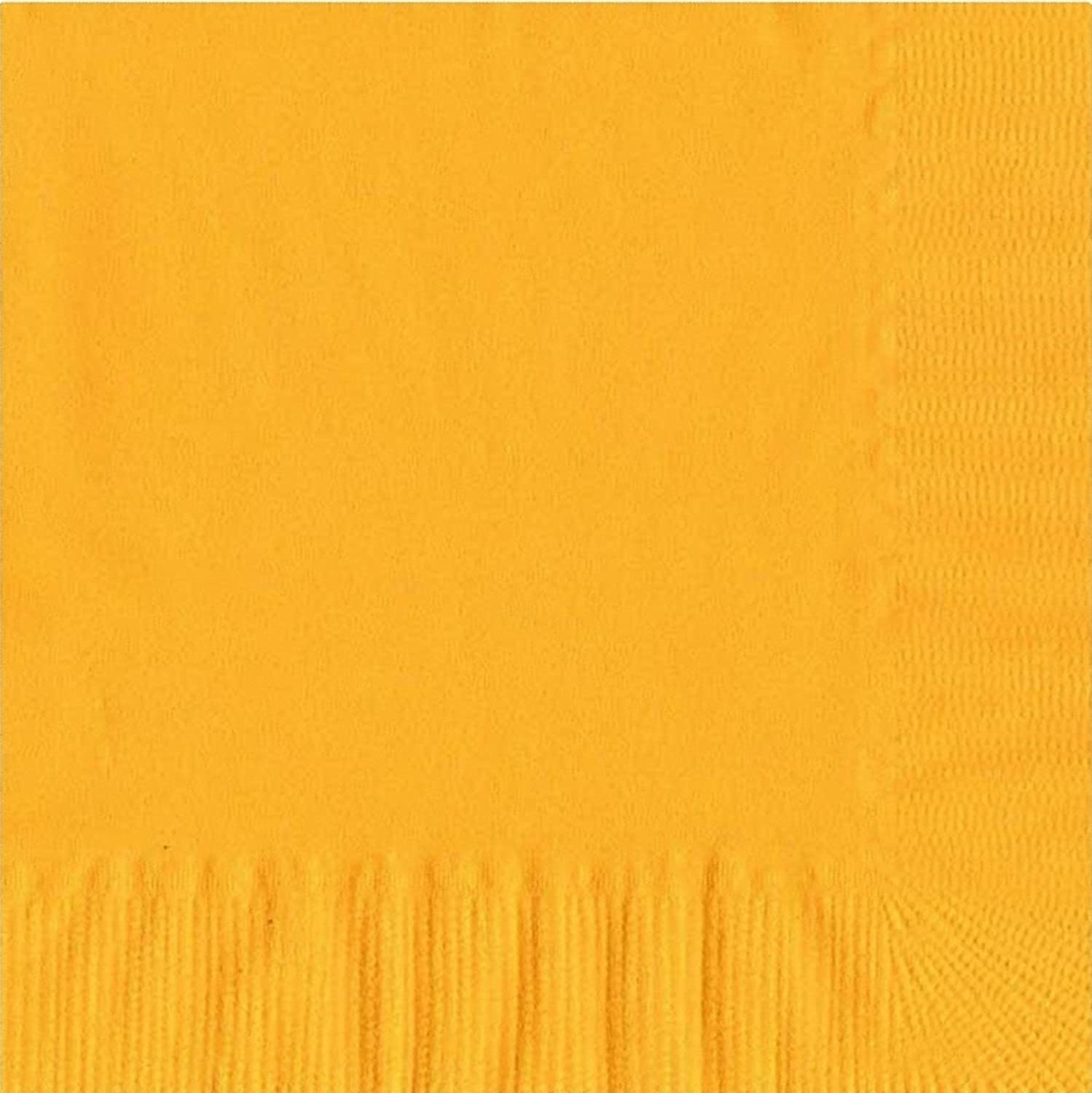 50 Plain Solid Colors Luncheon Max 53% OFF Ranking TOP4 Dinner - Napkins Ye Harvest Paper