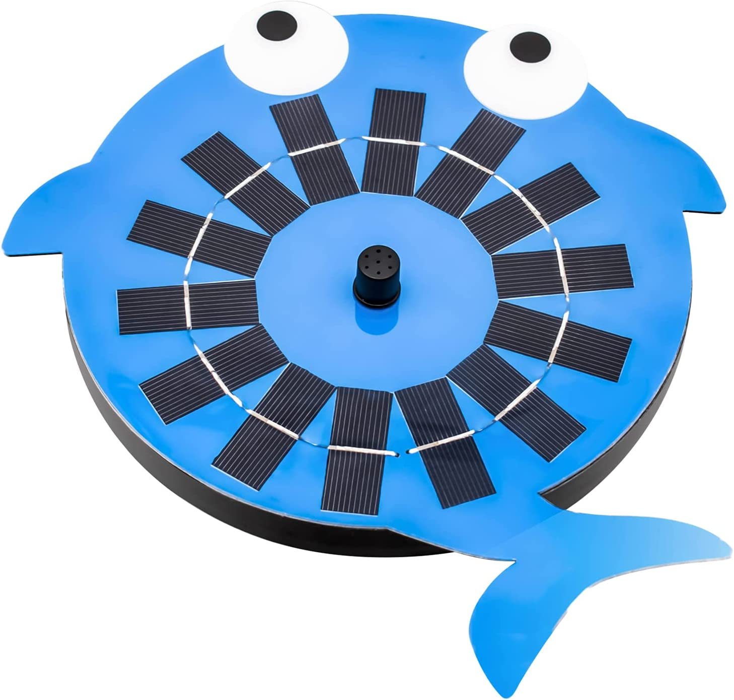OhhGo Whale Shape Solar Fountain with 1 year warranty Water 4 Ranking TOP2 Pump Nozzles