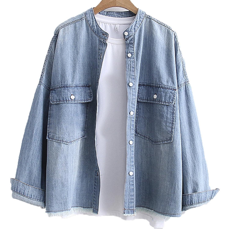 [美しいです] 春 秋 レディース コート 学生 ゆったり ファッション おしゃれ ジャケット 日系 ロングスリーブ プリント ファスナー 学院風 レジャー レトロ