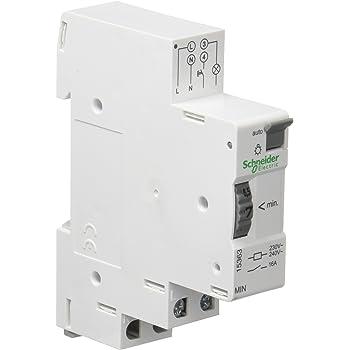 blanc 230/V Schneider electric 16655/duoLine Min Clic minuterie 16/A amp/ères