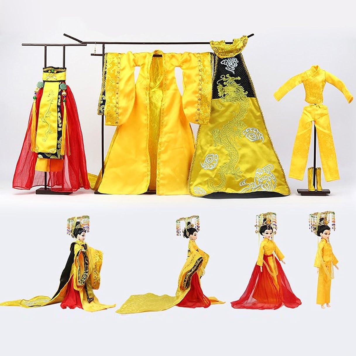 ご近所エンターテインメント服を片付けるB Blesiya 中国古代 唐時代 1/6 Bjd エンプレス ウー ゼティアン キャラクターフィギュアドール 3色選ぶ - #2