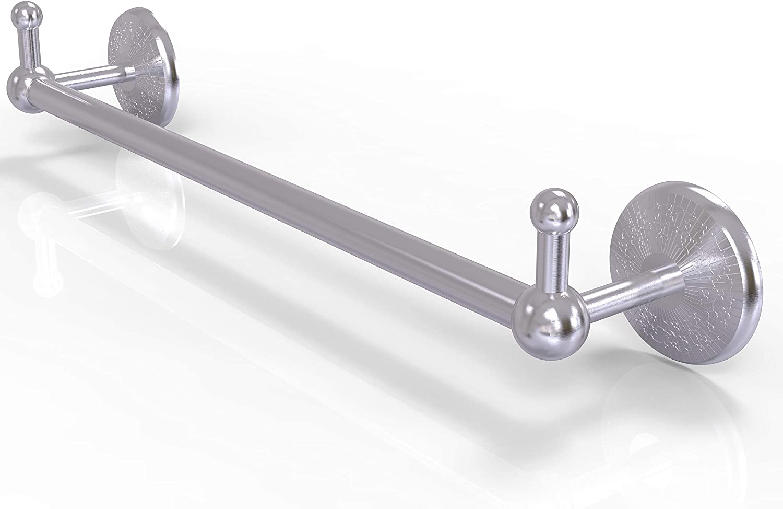 Allied Brass Pmc 41 24 Peg Prestige Monte Carlo Collection 24 Inch Integrated Hooks Towel Bar 24 Satin Chrome Amazon Com