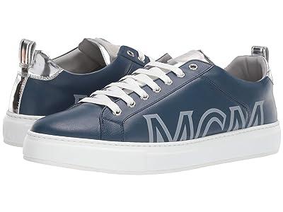 MCM Laurel Group Sneakers (Estate Blue) Men